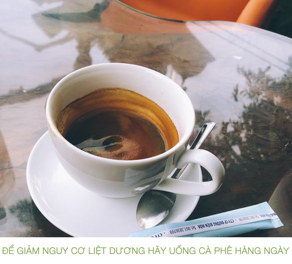 Uống cà phê giúp giảm nguy cơ liệt dương